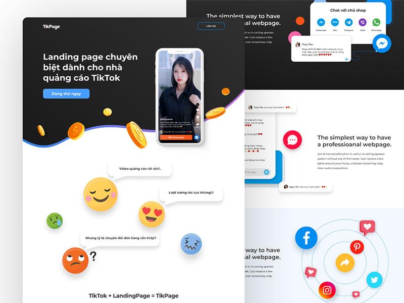 tikpage.com: Tối ưu trải nghiệm mua hàng qua social video