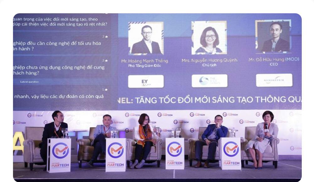 Hội thảo chuyên sâu MarTech Expo 2021.